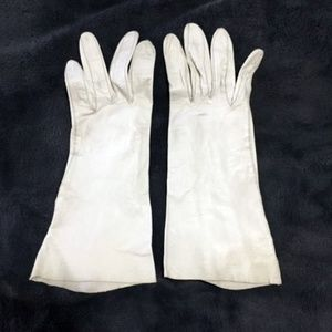 Accessories - Vintage Long White Women's Driving Gloves